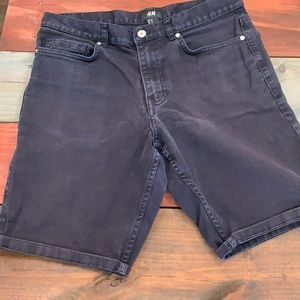 3 FOR $20 H&M Navy Jean Shorts Size 29